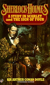 Ebook cover: The Sign Of The Four