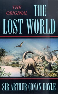 Ebook cover: The Lost World