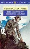 Ebook cover: Memoirs of Sherlock Holmes