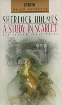 Ebook cover: A STUDY IN SCARLET