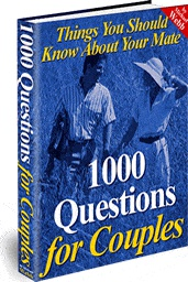 Ebook cover: 1000 Questions For Couples