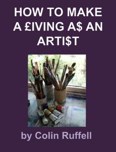 Ebook cover: How to Make a Living as an Artist