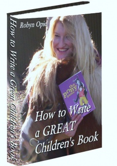 Ebook cover: How to Write a GREAT Children's Book