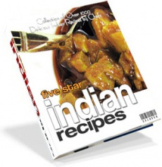 Ebook cover: 1000 Delicious Indian Recipes