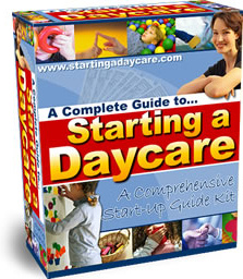 Ebook cover: Starting a Daycare