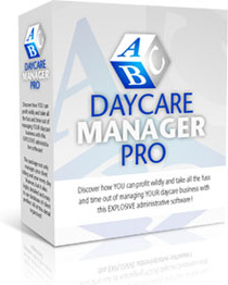 Ebook cover: Daycare Manager Pro