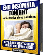 Ebook cover: End   Insomnia  Tonight