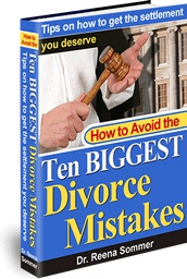 Ebook cover: How To Avoid The Ten BIGGEST Divorce Mistakes