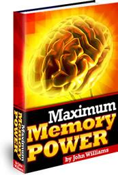 Ebook cover: Maximum Memory Power