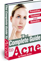 Ebook cover: The Complete Guide to Acne Prevention, Treatment and Remedies!