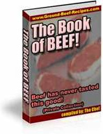 Ebook cover: The Ultimate Book of Beef!