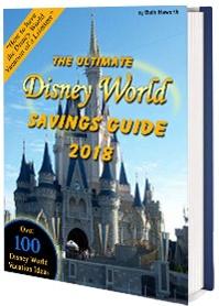 Ebook cover: Disney World Savings Guide