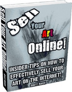 Ebook cover: SellYourArtOnline.com -- Be a Paid Artist! Sell Your Art Online!