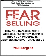 Ebook cover: FEAR Selling - ClickBank Partnership