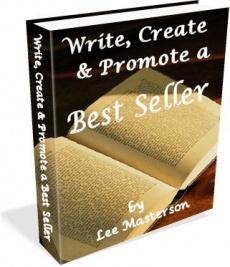 Ebook cover: Write, Create, Promote a Best-Seller