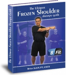 Ebook cover: The Ultimate Frozen Shoulder Therapy Guide