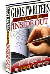Ebook cover: Ghostwriters From The Inside Out
