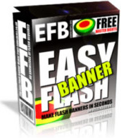 Ebook cover: Easy Flash Banner