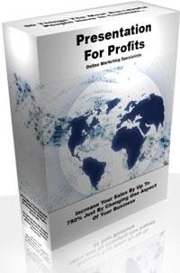 Ebook cover: Presentation For Profits