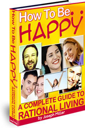 Ebook cover: How To Be Happy!