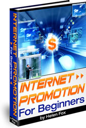 Ebook cover: Internet Promotion For beginners