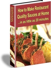 Ebook cover: How to Make Restaurant Quality Sauces