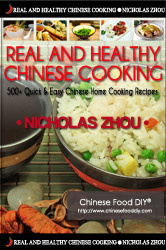 Ebook cover: Real And Healthy Chinese Cooking