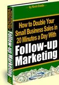 Ebook cover: Follow-up Marketing