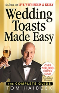 Ebook cover: Wedding Toasts Made Easy!