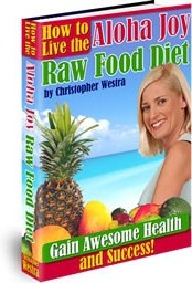 Ebook cover: How to do the Raw Food Diet