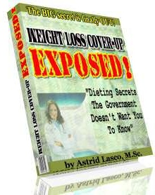 Ebook cover: Weight Loss Cover-Up EXPOSED