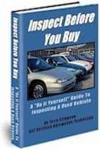 Ebook cover: Inspect Before You Buy A Used Car