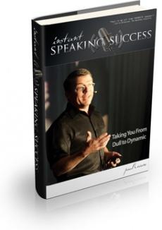 Ebook cover: Instant Speaking Success