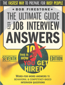Ebook cover: Job Interview Answers That Will Get You Hired!