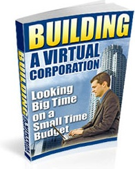 Ebook cover: Building A Virtual Corporation