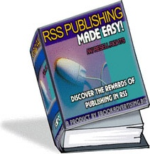 Ebook cover: RSS PUBLISHING 101