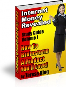 Ebook cover: Brainstorming for Your Product