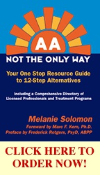 Ebook cover: AA-Not the Only Way; Your One Stop Resource Guide to 12-Step Alternatives