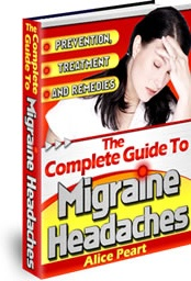Ebook cover: The Complete Guide to Migraine Headaches