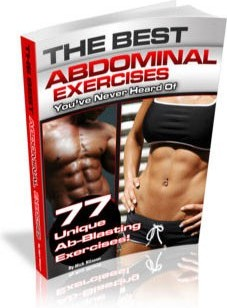 Ebook cover: The Best Abdominal Exercises
