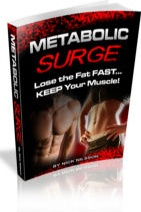 Ebook cover: Metabolic Surge - Rapid Fat Loss