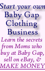 Ebook cover: Start your own Baby Gap Clothing Business