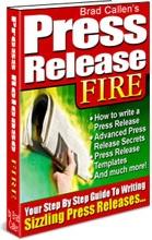 Ebook cover: Press Release Writing