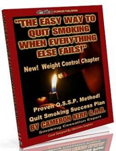 Ebook cover: The Easy Way To Quit Smoking When Everything Else Fails