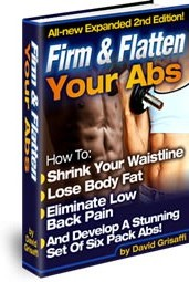 Ebook cover: FIRM AND FLATTEN YOUR ABS