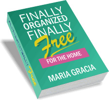 Ebook cover: Finally Organized, Finally Free for the Home