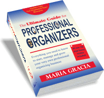 Ebook cover: Ultimate Guide for Professional Organizers