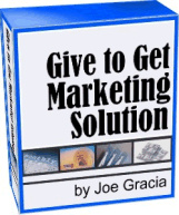 Ebook cover: Give to Get Marketing Solution