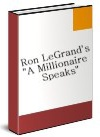 Ebook cover: A Millionaire Speaks