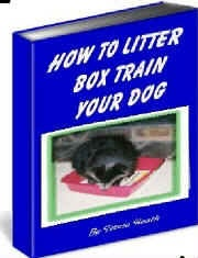 Ebook cover: How To Litter Box Train Your Dog